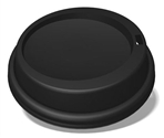 LID - DOME - 10-20 OZ HD CUP BLK 1000/CS