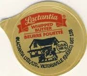 LACTANCIA WHIPPED BUTTER CUPS 600/CS