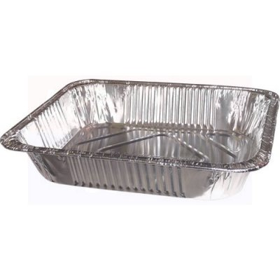 1/2 SIZE FOIL STEAM TRAY - DEEP - 100/CS
