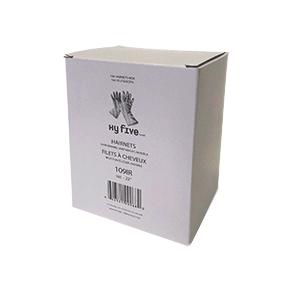 MEDIUM INVISIBLE BROWN HAIR NETS -144/CS