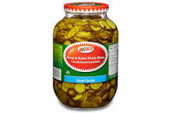 BICKS  B&B PICKLES 4 LTR.