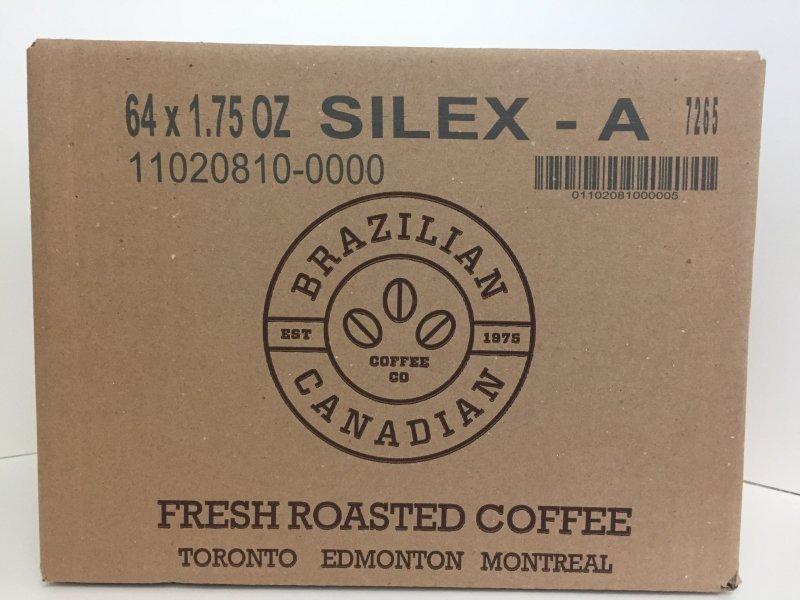 SILEX A COFFEE 64 X 1.75 OZ (7 LBS)