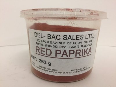PAPRIKA 10 OZ. CONTAINER