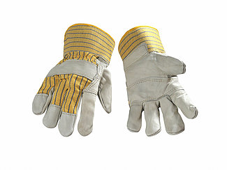FITTER GLOVE VALUE COWHIDE SFTYCF-LG