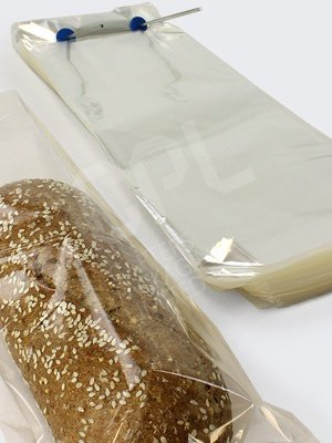 CLEAR POLY BAG W/ WICKET-12