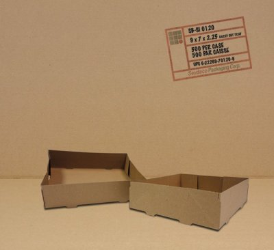 9 X 7 X 2.5 CARRY OUT BOX 4 CUP-500/CS