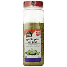 GARLIC PLUS 580 GM.