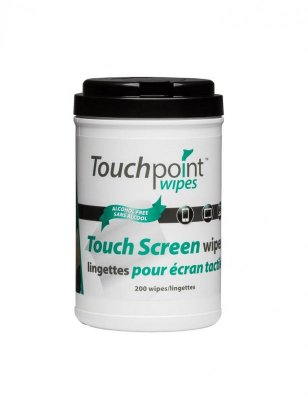 TOUCH SCREEN WIPES - 200/CAN