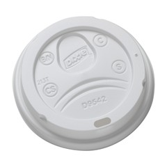 DOME LID - 12/16 DIXIE HD CUP-WHT-1M/CS