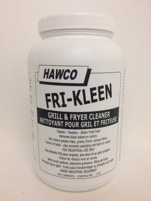 FRI-KLEEN PWDR FRYER/GRILL CLEANER