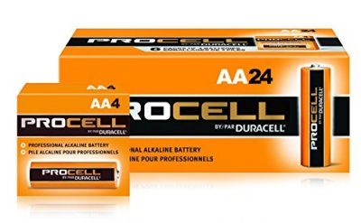 DURACELL PROCELL BATTERY - AA - 24/PK