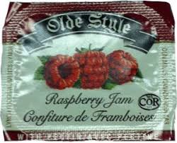 RASPBERRY JAM PORTIONS 200/CS