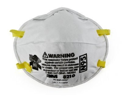3M N95 PARTICULATE RESPIRATOR - 20/BX